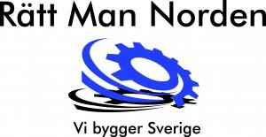 Logga slogan - Rätt Man Norden AB