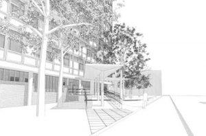 Projekt - Ombyggnad Sankt Goran Gymnasium 2 - Rätt Man Norden AB
