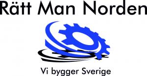 Logga slogan opt - Rätt Man Norden AB